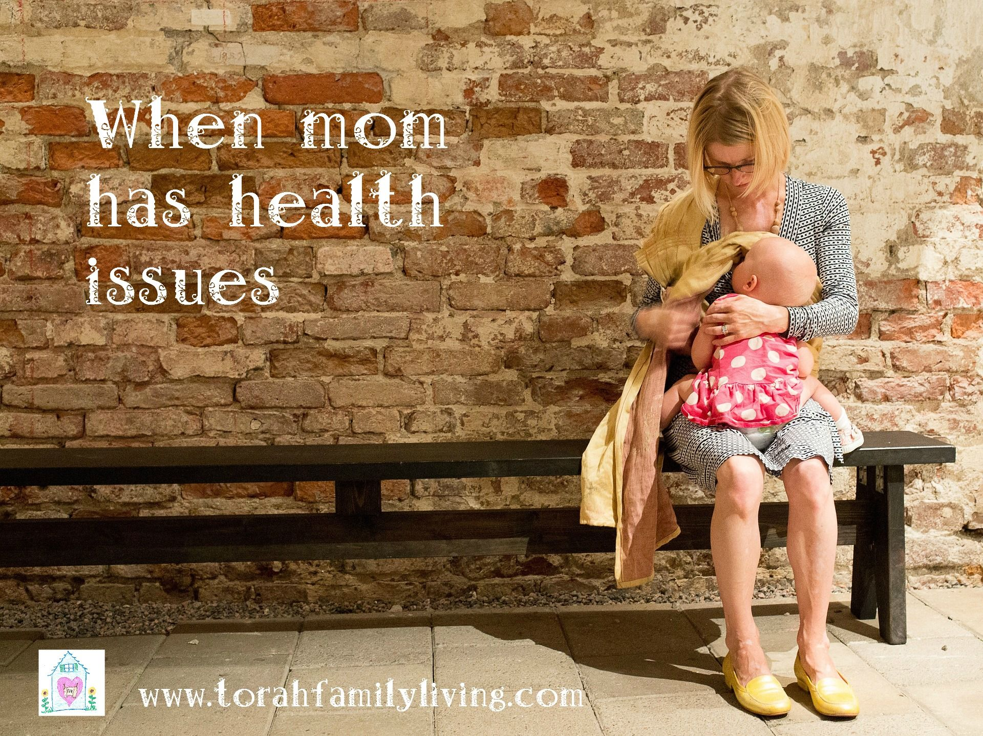 Today I want to share with you one of my hidden struggles and how I have learned to rise above it. I'm a mom with health issues.