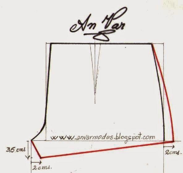 9c0ef5409 AnVar - Te enseño a coser: HOT-PANTS+VINTAGE+TRAZO FÁCIL | CORTE Y ...