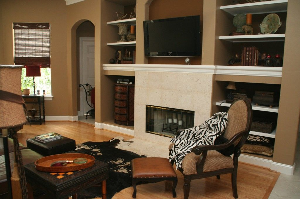 Which paint color goes with brown furniture paint color for Brown interior paint colors