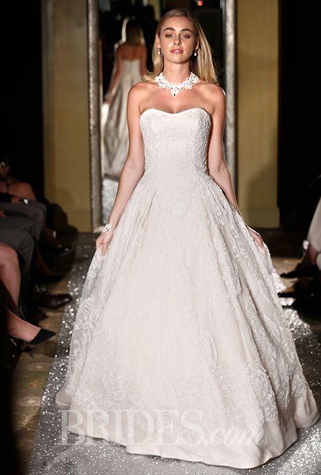 Oleg Cassini - Fall 2015 | Wedding dress, Ballgown wedding dress and ...