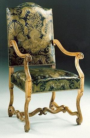 Louis XIV Chair Made For And Popular For The The French King After - Fauteuil louis xiv