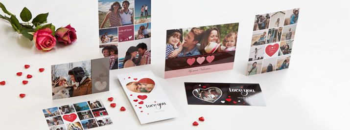 Kiitoskortit netistä. Kauniit kiitoskortit omalla valokuvalla. Erilaisia vaihtoehtoja, voi valita mm. useasta eri koosta ja taustasta.