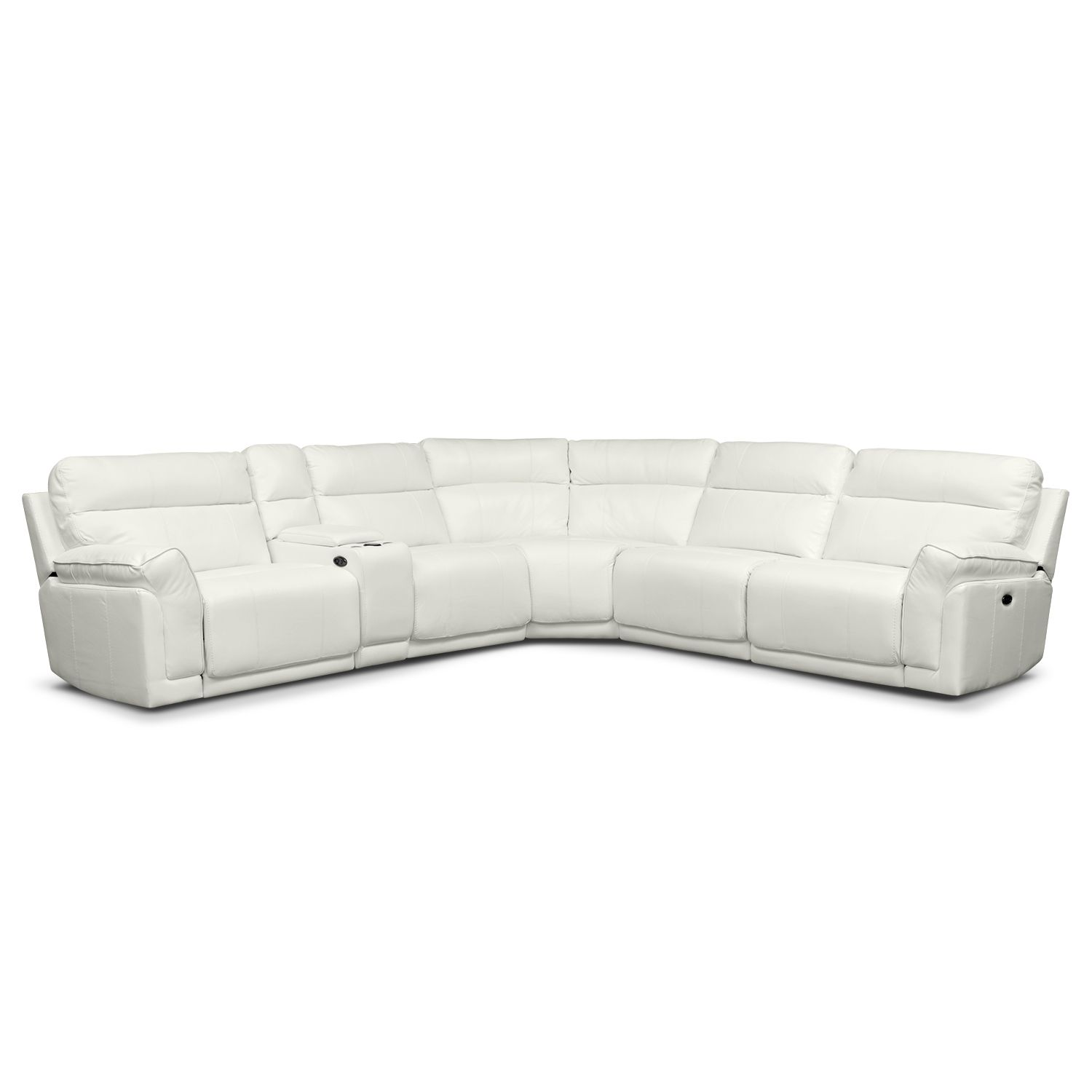 Living Room Furniture Voyager II 4 Pc Power Reclining Sectional