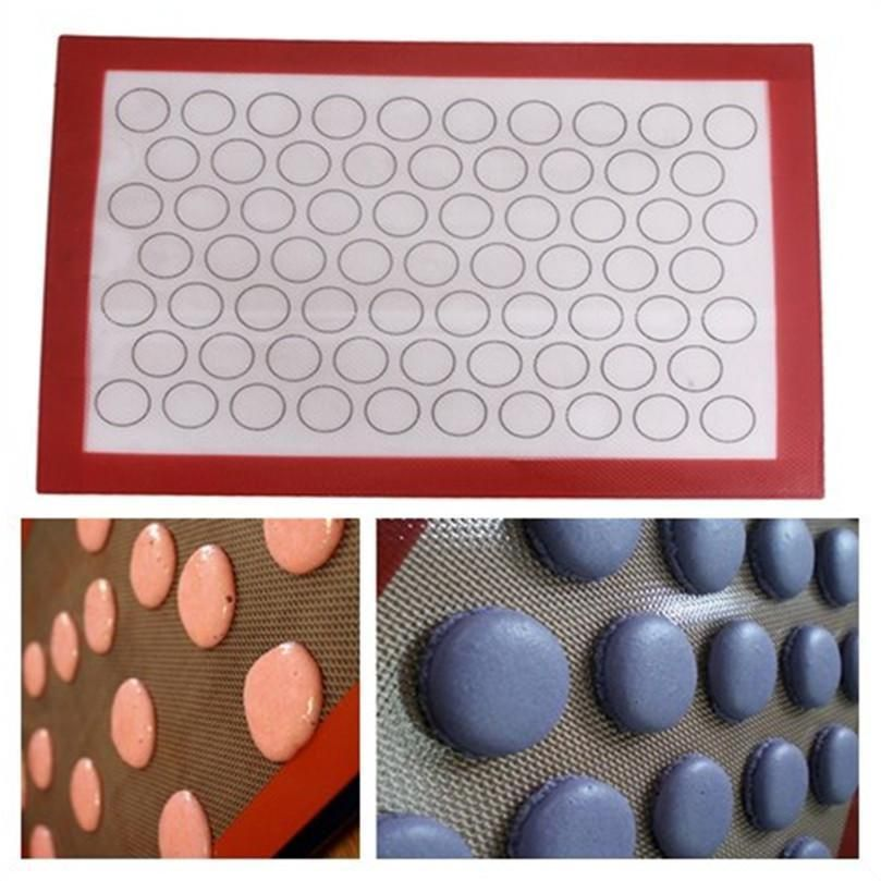 7 53 Nonstick Silicone Mat Baking Oven Pastry Liner Macaron