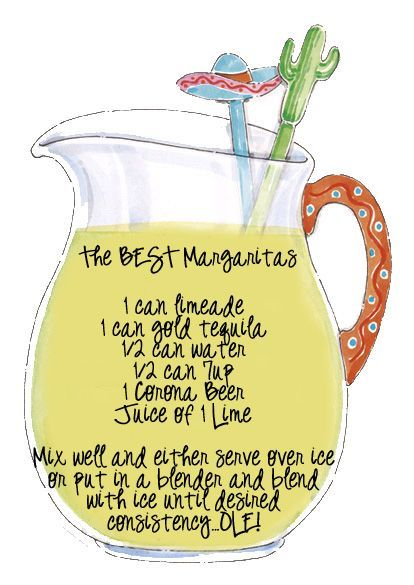 The best Margaritas!