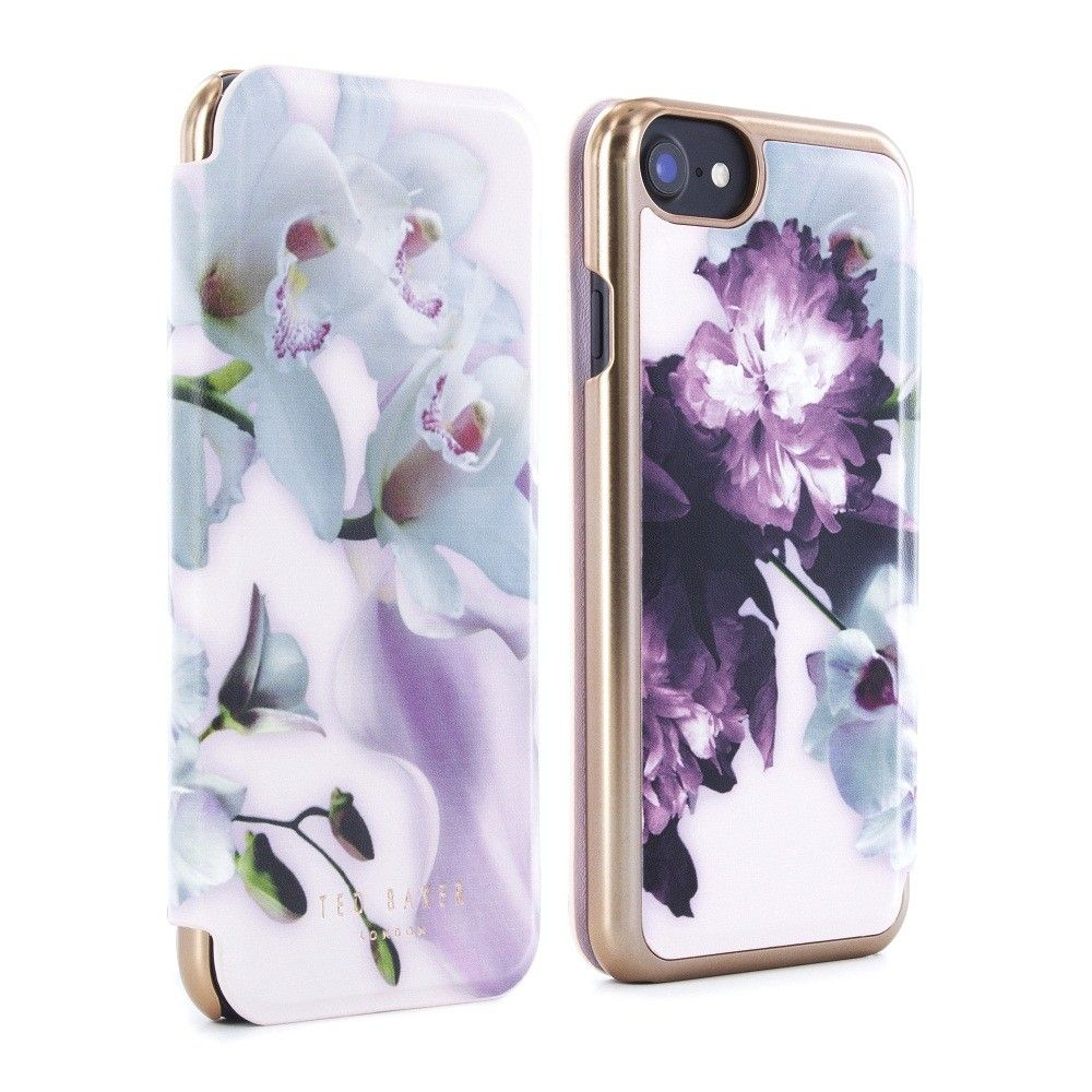 bf2efe5dee940 Ted Baker SS16 MARIEL Mirror Folio Case for iPhone 6   6S - Nude ...