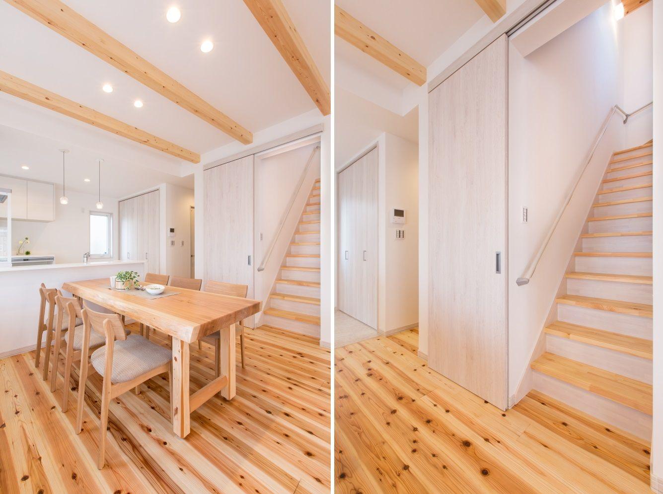 人気のリビング階段 リビング階段のデメリットは下記の4点 暖房