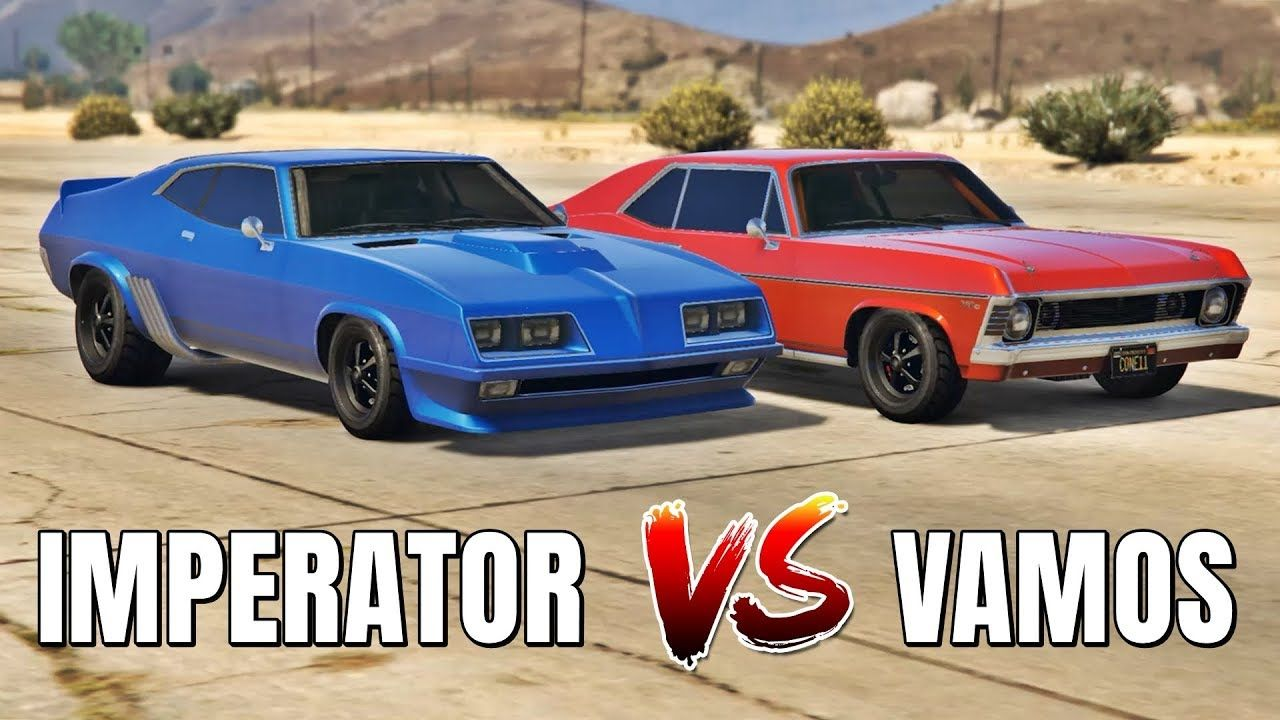 GTA 5 ONLINE - IMPERATOR VS VAMOS (WHICH IS FASTEST?) | Gta 5 online, Gta  5, Gta