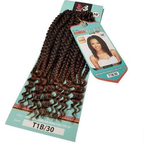 Bobbi Boss Crochet Braid Hair - Box Braid Curly Tips 10 #longboxbraids