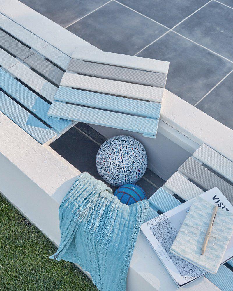 Guide Maison - Printemps 2017, créer un banc avec des dalles ...