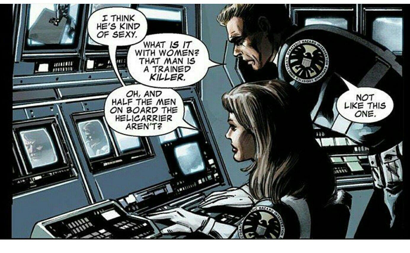 She Is Talking About Bucky Lol Marvel Tony Stark Bucky Barnes Winter Soldier Bucky