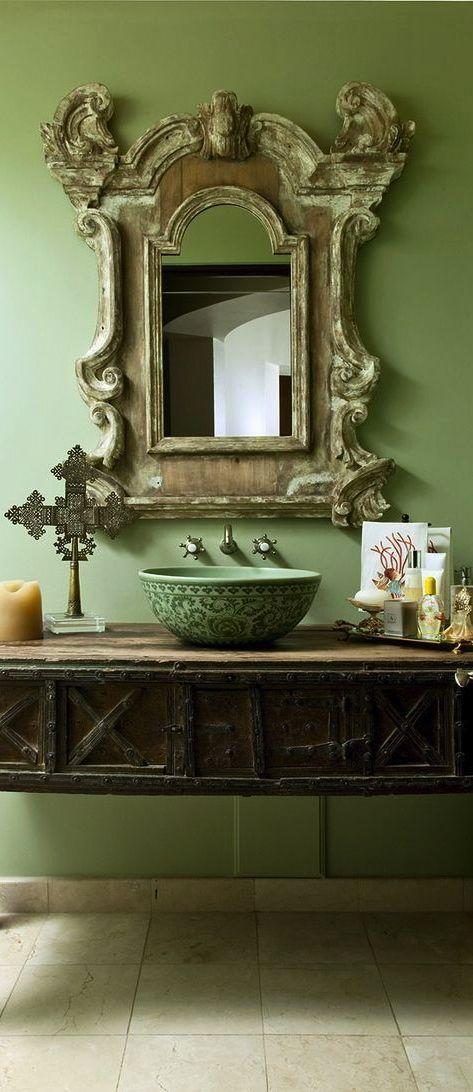 Pin di catherine sanchez su d co salles de bains salle for Faccende domestiche in inglese