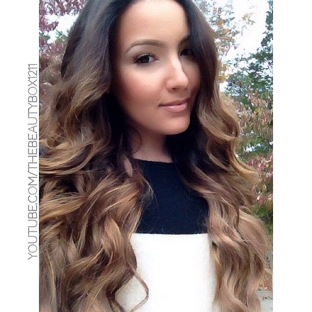 Loving My 22 Inch Bellami Hair Extensions In Chestnut Brown Use