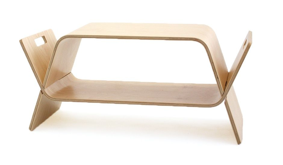 Monoqi Embrace Table Birch Furniture Lighthing