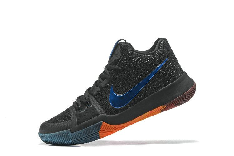 2018 Factory Authentic Kyrie 3 ID III Black Multicolor 2 Bhm Color Irving  Shoes 2018