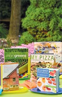 Before your hit the beach or backyard,   check out one of these delicious reads.