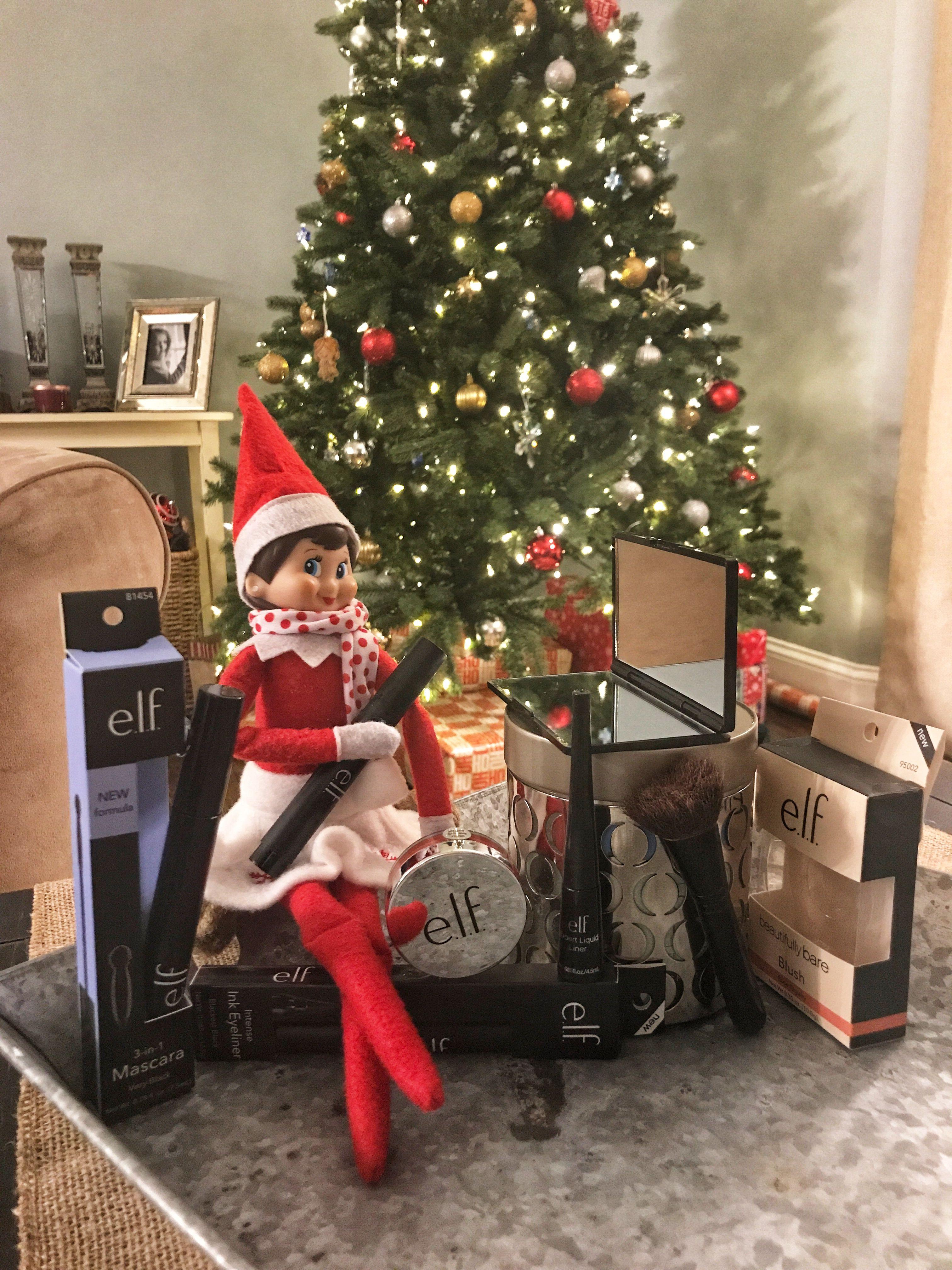 Elf On The Shelf Makeup Elf Fun Elf House Christmas Elf