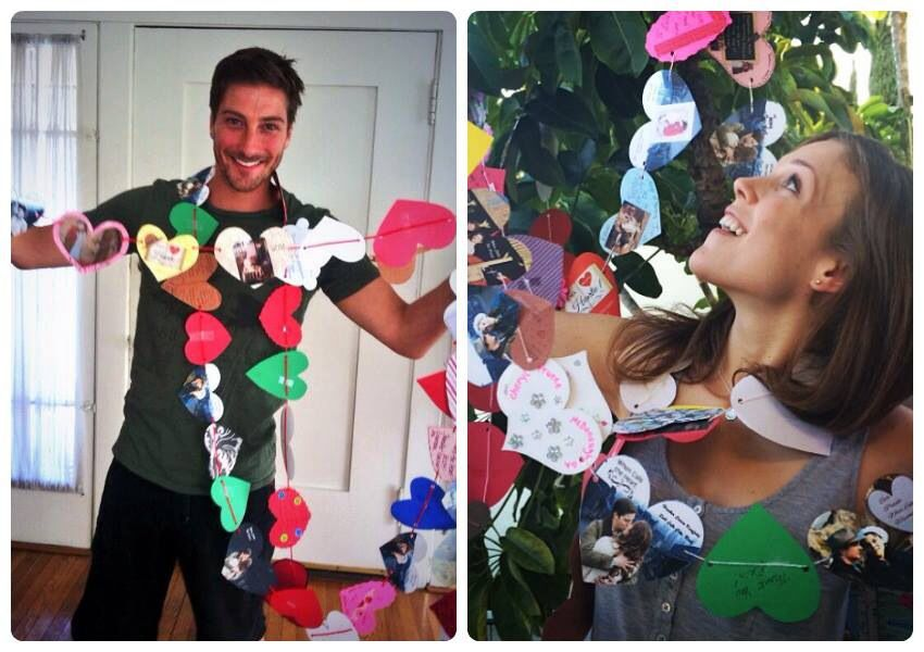 Heartie's Hearts.... Daniel Lissing and Erin Krakow..... #ilovewhencallstheheart  #can'twaitforaseason2