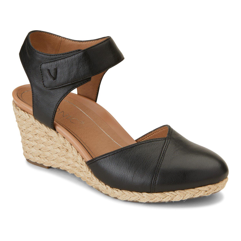 8377767cc59 Vionic Loika Women's Comfort Wedge Black - 5 Medium in 2019 ...