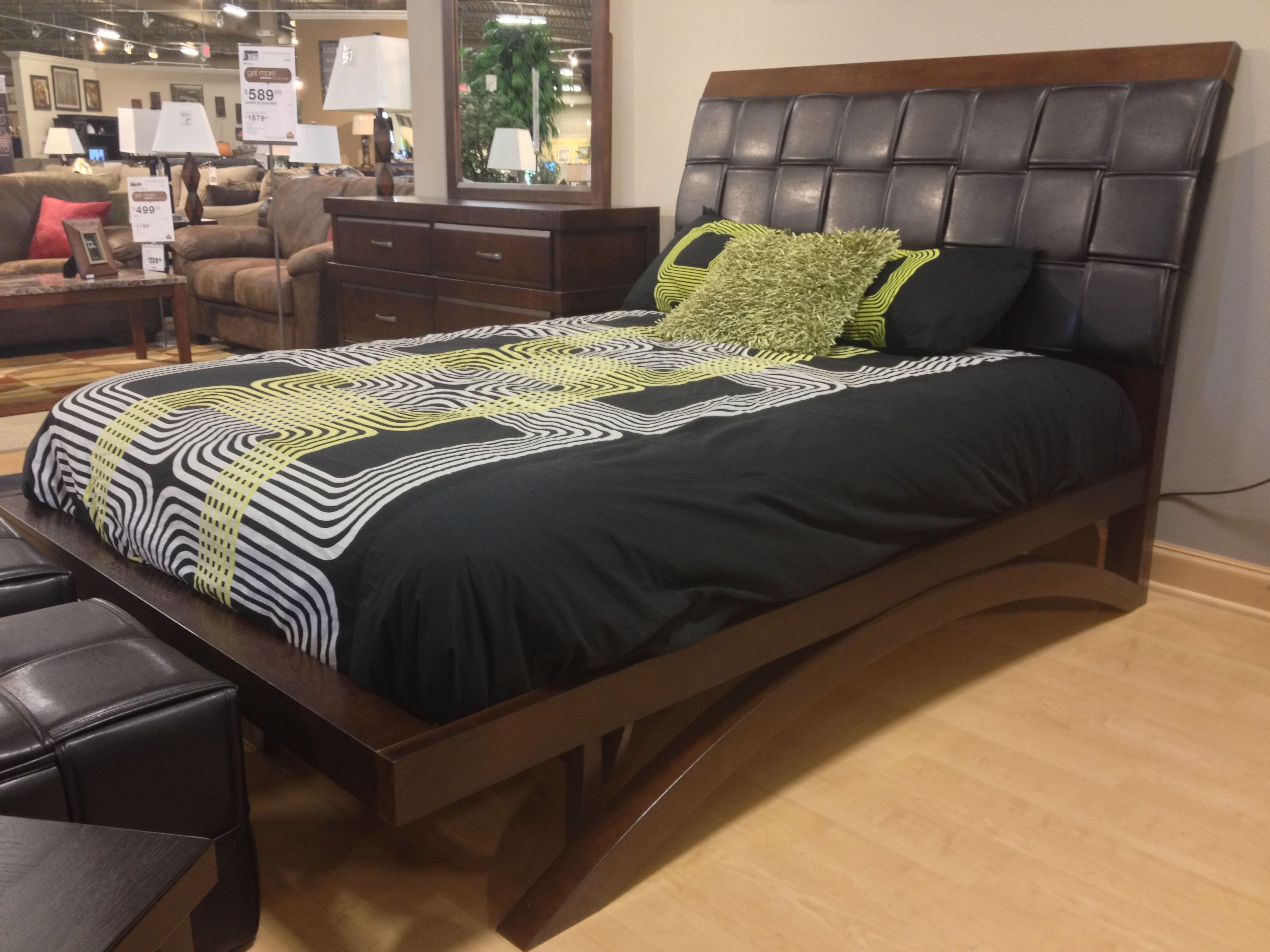 Minburn Queen Sleigh Bed Side View. At Your Ashley #Furniture In Richland, WA #Tricities