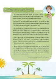 English Teaching Worksheets Desert Island Desert Island Island Survival Teaching English