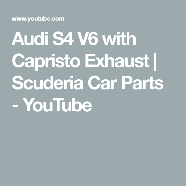 Cls63 Amg Capristo Exhaust From Scuderia Car Parts Youtube