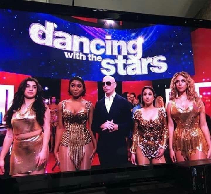 Pitbull And Fifth Harmony Quinta Harmonia Harmonia Camila