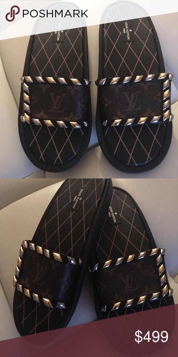 e100b48556f4 Spotted while shopping on Poshmark  Louis Vuitton Flats!  poshmark  fashion   shopping  style  Louis Vuitton  Shoes