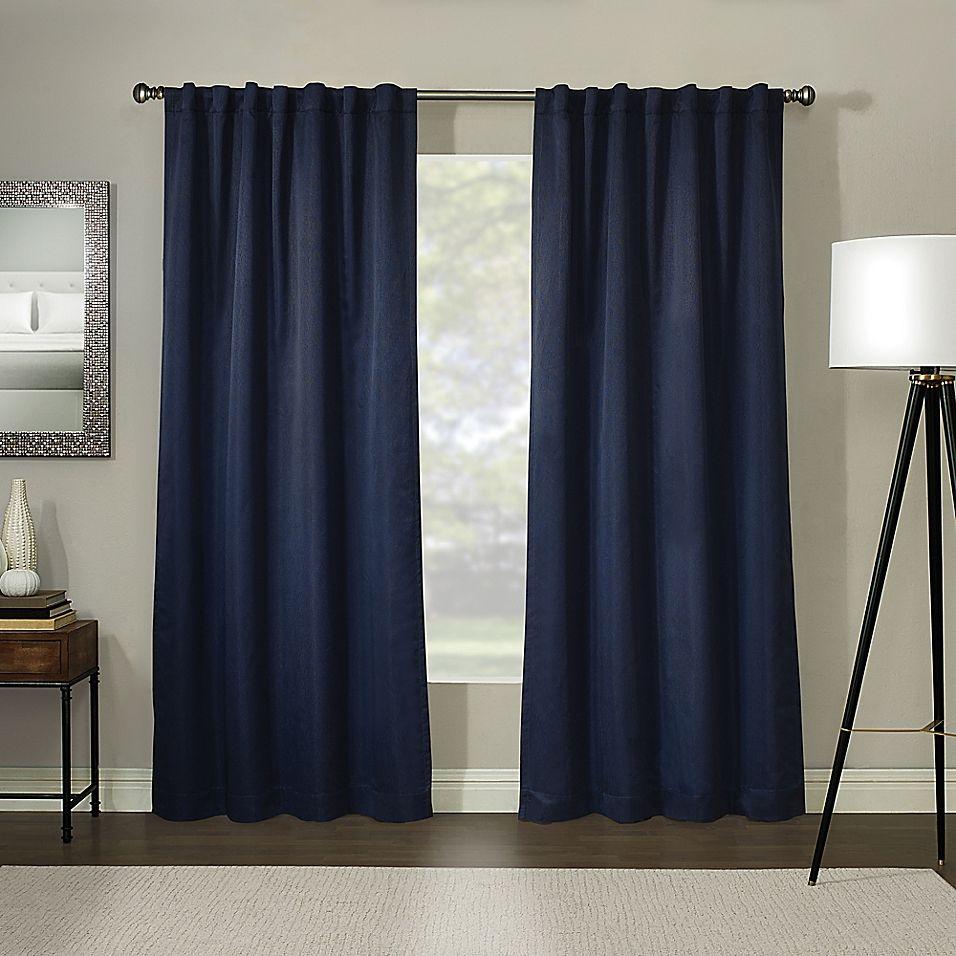 Madeira 100 Blackout Rod Pocket Window Curtain Panel Panel
