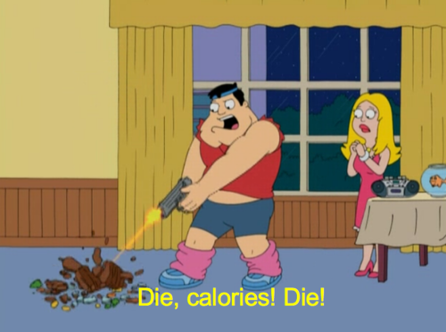 Stan Smith From American Dad Hates Calories With Images