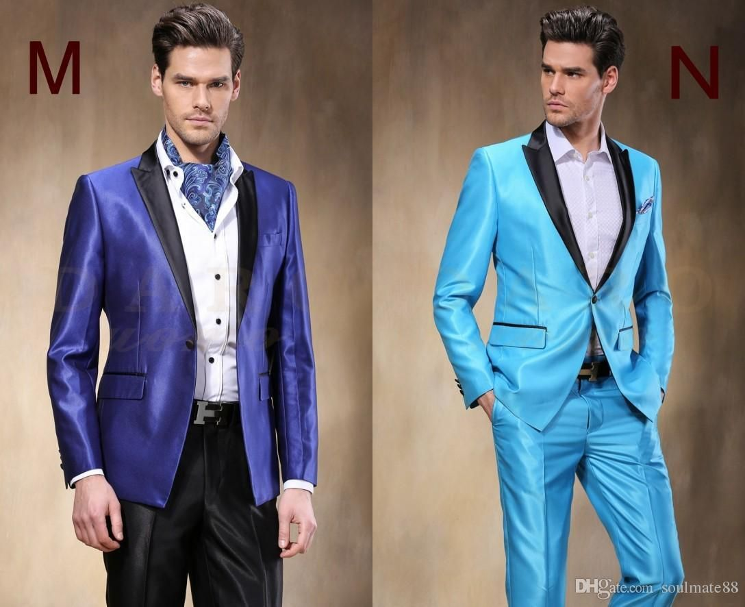 New Arrival Groom Tuxedos 14 Styles Best Man Suit Custom Made ...
