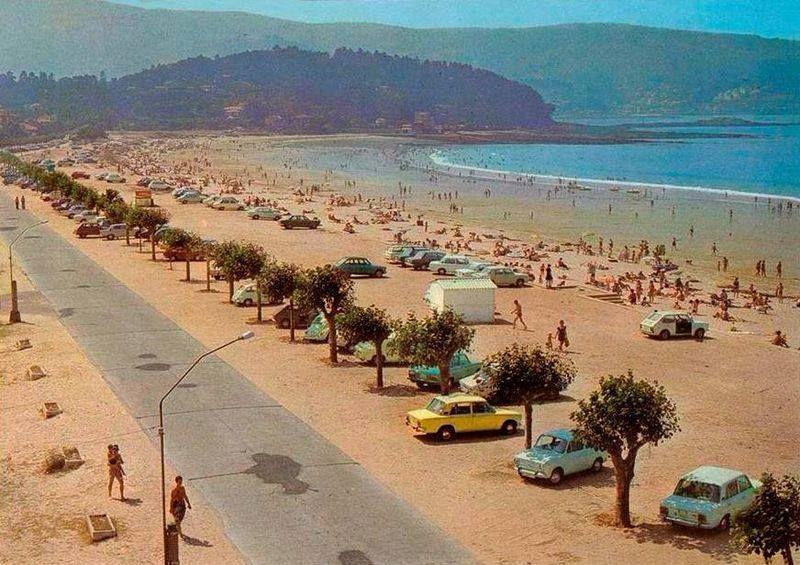cddd6c43496a1 Playa América. Baiona. (Pontevedra). Galicia. Spain.