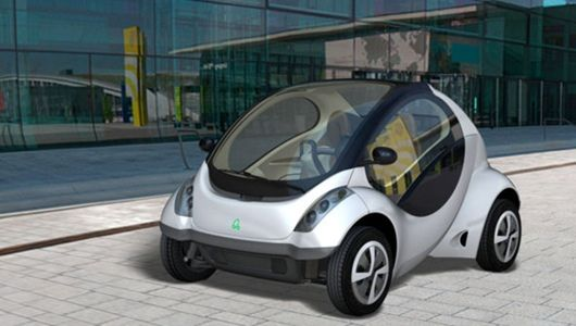 From Jetsons To Your Driveway A Folding Car Electric Cars Car City Car