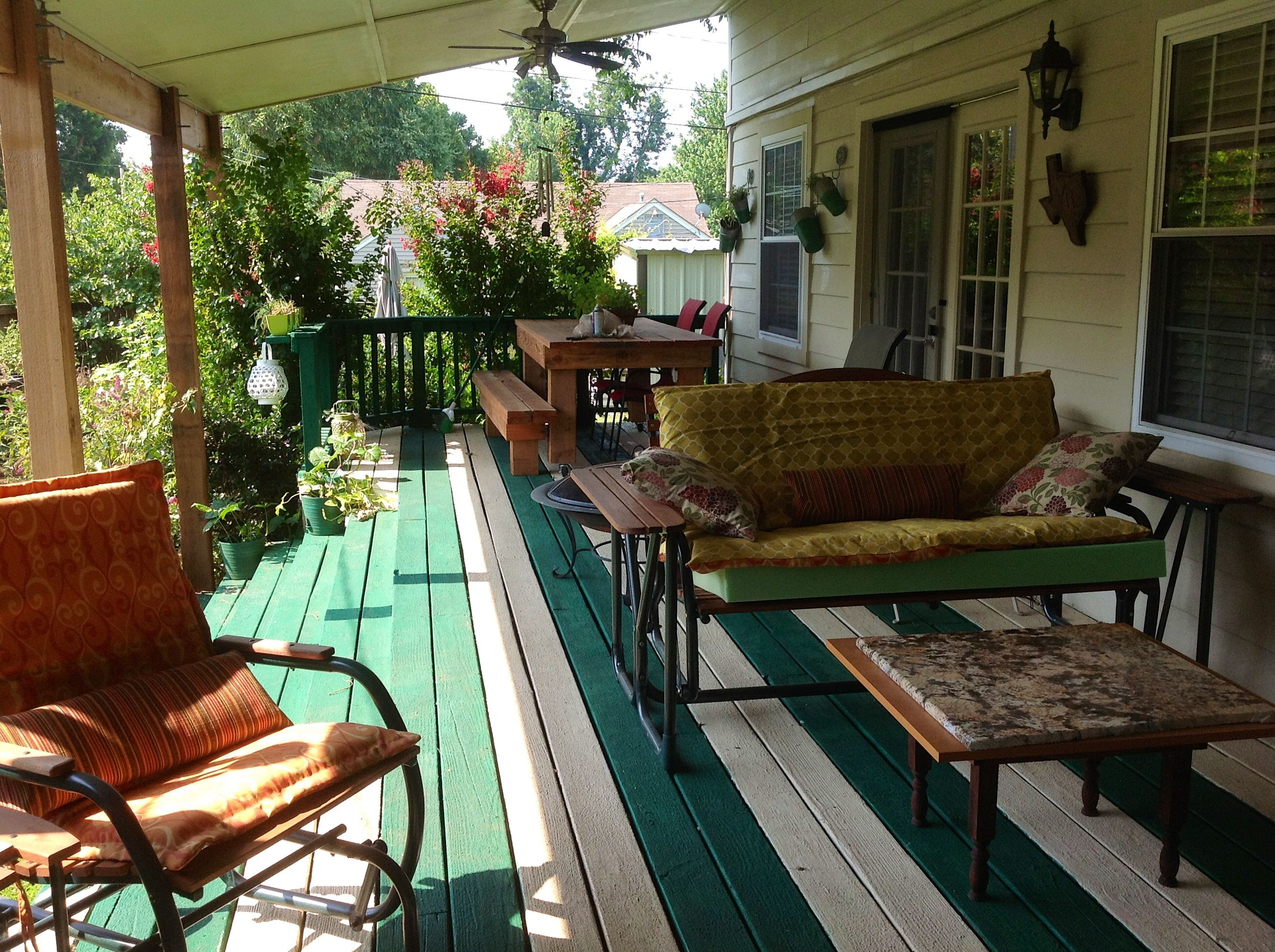 3: Used Restore to paint my covered porch--Love it!