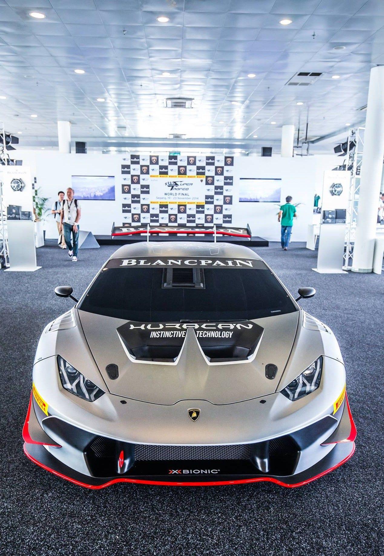 Lamborghini Huracan Super Troffeo Blancpain Link B F