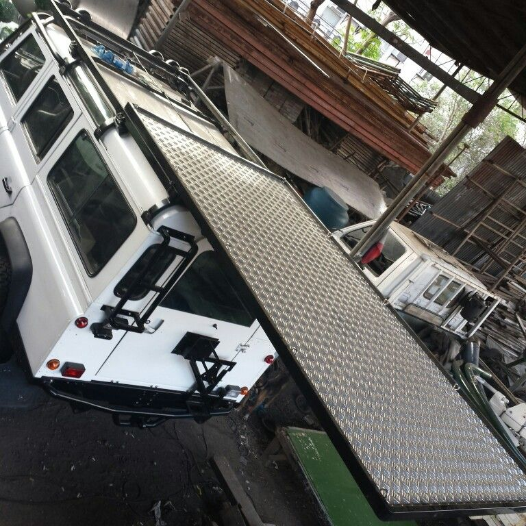 Land Rover Defender 110 Js Sliding Roof Rack Land Rover