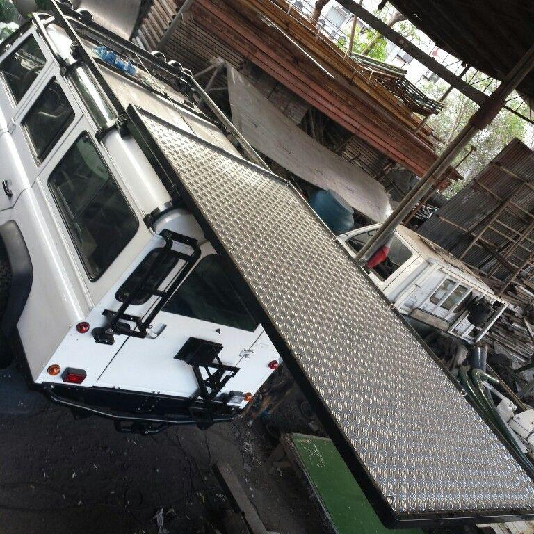 Land Rover Defender 110 Js Sliding Roof Rack Defender