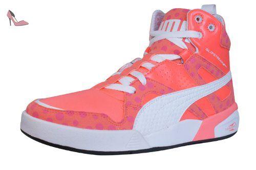 Puma Ftr Slipstream Lt Fluo femmes Cuir chaussures/Chaussures - Purple - SIZE EU 38 pRITMl