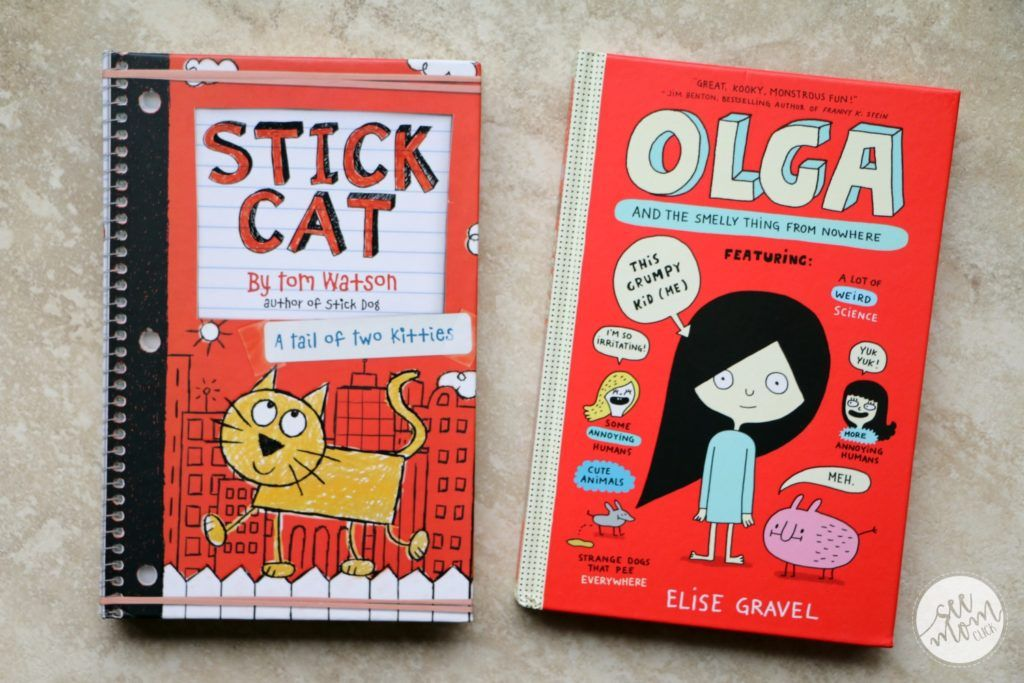 Olga and the Smelly Thing from Nowhere and Stick Cat A
