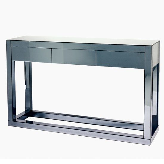 Reflect console table from Dwell Generously proportioned this sleek