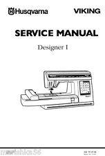 Husqvarna Viking Designer 1 ONE * Service manual & Parts