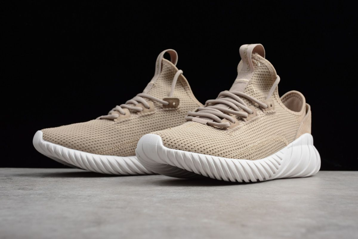 Brand New Adidas Tubular Doom Sock Primeknit Tan By3562 New
