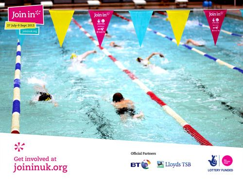 Many Young Volunteers Loved Swimming At Our Join In Summer 2013 Event At  Stalybridge Swimming Pool In Stockport.Olympic Athlete Rebecca Adlington  Came Along ...