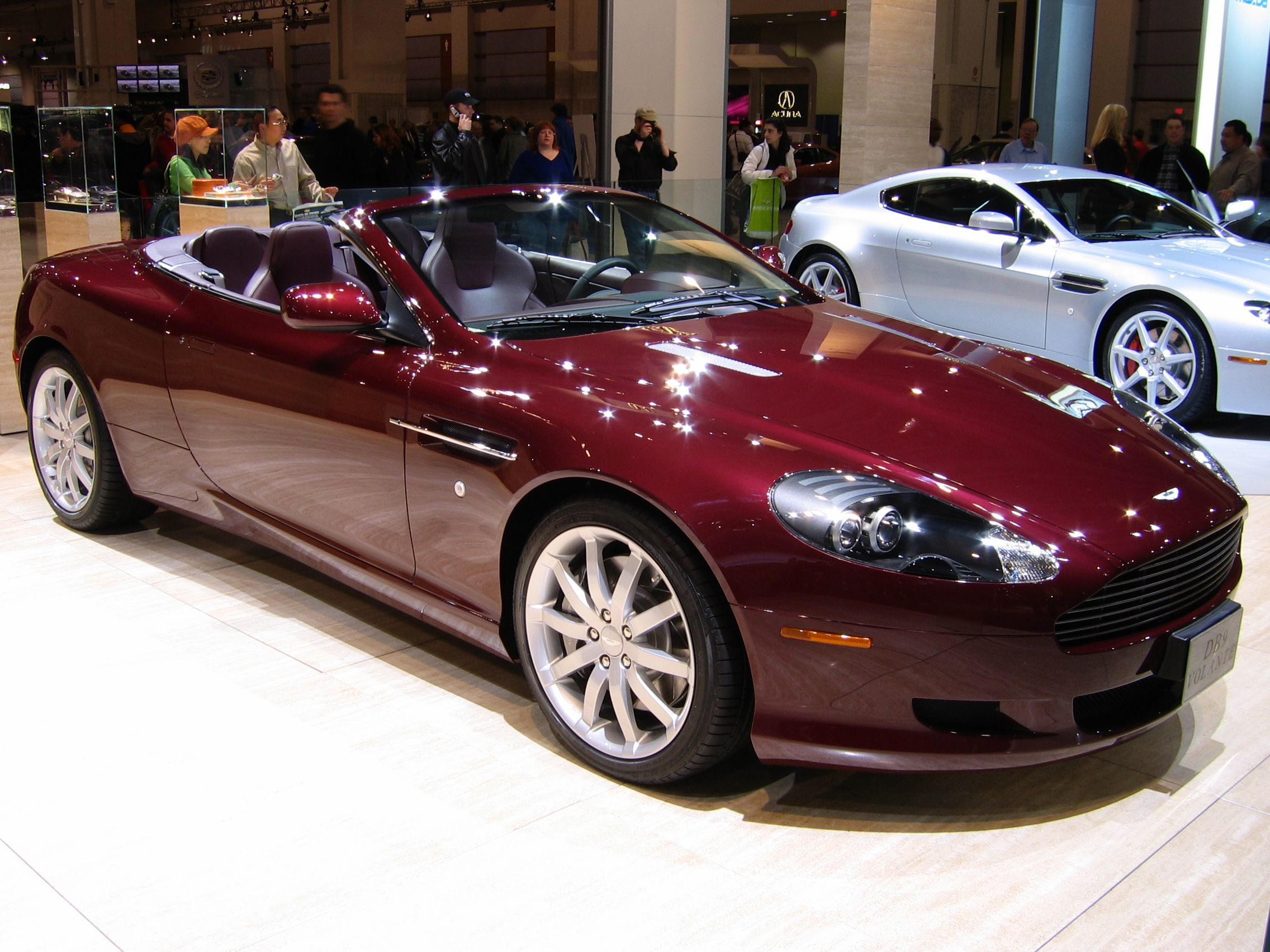Whatu0027s That In Your Driveway? Oh That? Just An Aston Martin DB9 Volante.