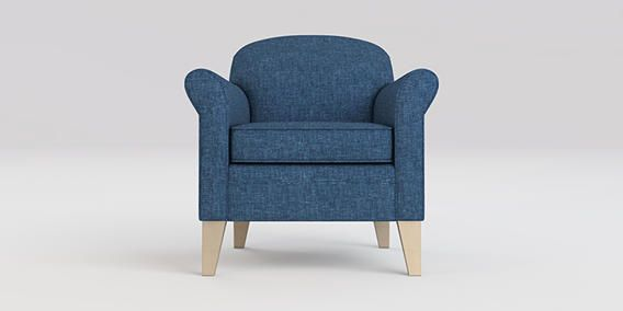 Cocktailsessel ikea  Buy Lottie Chair (1 Seat) Boucle Weave Tonal Blue High Tapered ...