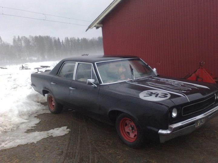 '67 Rambler that used to belong to my Viking buddy, Øystein Overå Larsen. Gode gamle amerikanske biler!