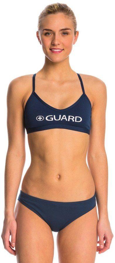 fee4848be6 Waterpro Lifeguard Cross Back Two Piece Swimsuit Set 8143634 ...
