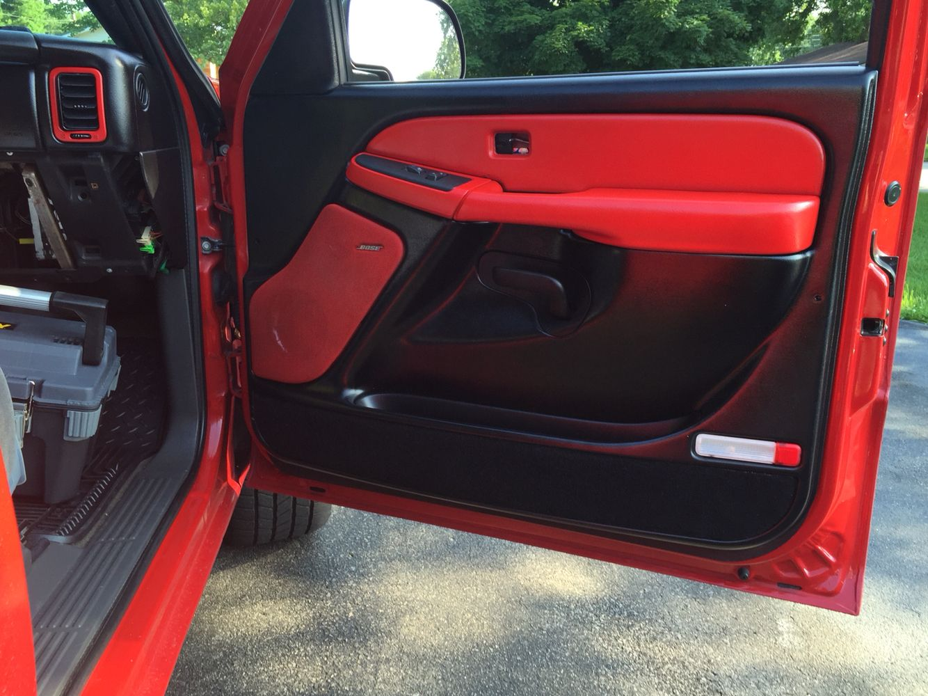 Here S The Prototype Front Door Panel We Ll See How It Holds Up Chevy Silverado Chevy Front Door