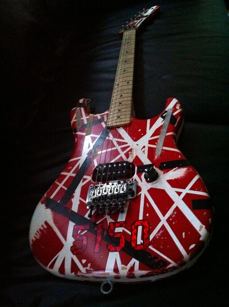 Kramer Evh 5150 Van Halen Eddie Van Halen Classic Guitar
