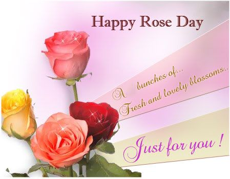 Romantic Rose Day Wishes For Boyfriend Valentine Day Week Happy Friendship Day Paper Roses